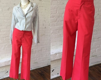 Vintage Cheeno's Bright Pink Pants