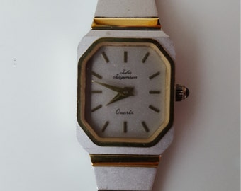 Jules Jurgensen Quartz Ladies Watch White & Gold