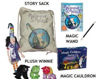Winnie the Witch Story Sack Bundle