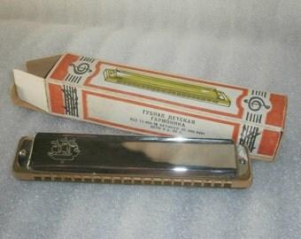 mouth organ children's harmonica Niva USSR