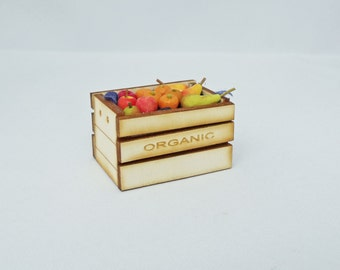 Organic Crate filled with Fruit 3