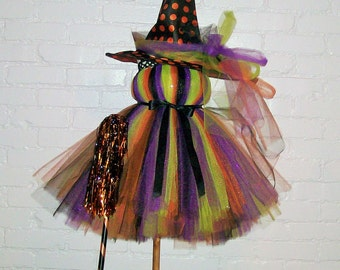 Witch Tutu Dress. Great for Halloween Costumes, Parties, Parades,  Birthday's and more.
