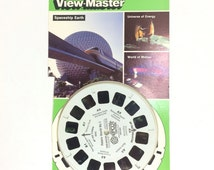 "View-Master 3 Reel Set EPCOT Center 3D: ""Future World No. 1"" 3-pk Reels 1980s Toy"