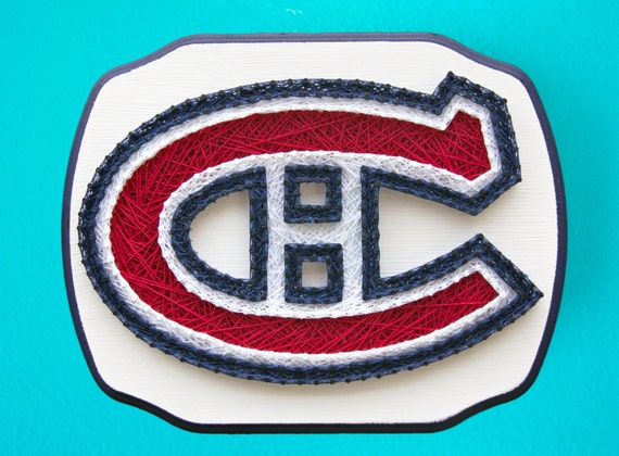 Made to order montreal canadiens string art hockey gifts like this item prinsesfo Image collections