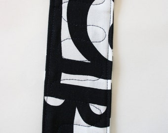 bookmark, fabric bookmark
