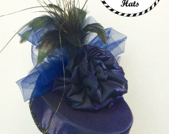 Navy Blue Party Hat