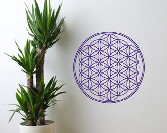 Vinyl Wall Decal - Flower Of Life