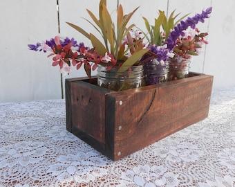 Pallet Planter Box - Red Oak