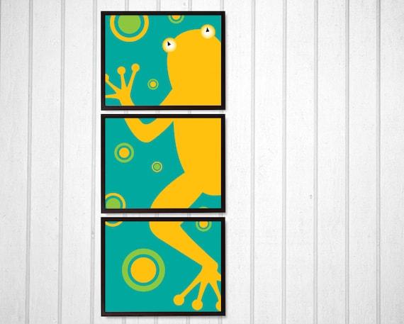 My Froggy Stuff Wall Art for Nursery   Vertical Wall Art for Kids Room    Frog Art Garden Baby Shower Gift   Frog Bathroom Animal Art Print. My Froggy Stuff Wall Art for Nursery Vertical Wall Art for