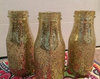 Glitter Vases (set of 4)