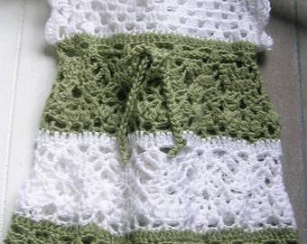 Crocheted dress, dress, baby dress, girls dress, summer dress, girl