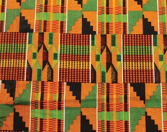 Traditional Kente Fabric #2 -12 yards wholesale over 100 in stock