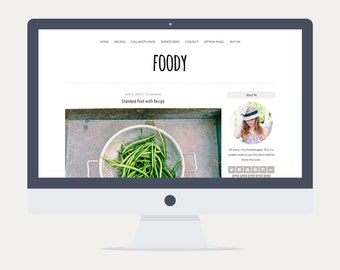 Foody - Food Wordpress Theme - V.3.0.4 - Premade - Self Hosted - Wordpress Blog Theme - Responsive