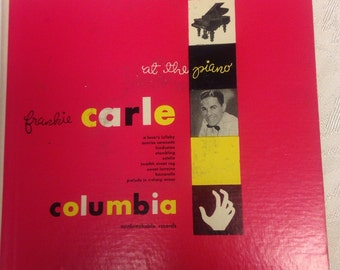 """Frankie Carle """"At The Piano""""  2-Record Set 45rpm"""