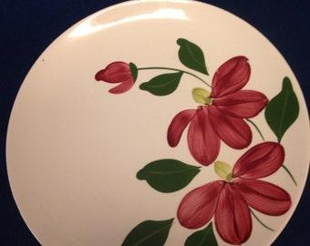"""Blue Ridge """"Winnie"""" Plate"""