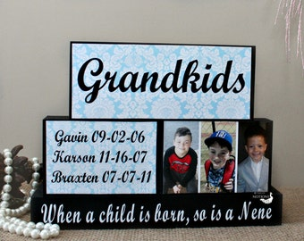 Nonna and Nonno Personalized Gift for Christmas Gift from