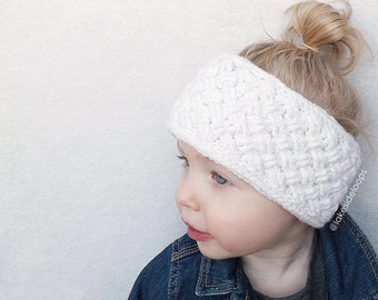 Crochet Pattern - Bentley Head Warmer by Lakeside Loops (includes Baby, Toddler, Child, Teen & Adult sizes)