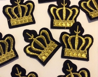 ONE Crown Patch/ Crown Applique