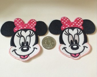 ONE Hot Pink Mouse Patch