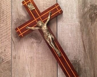 INRI Jesus On Wood Cross