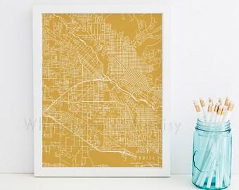 Boise Map Art Boise Print Boise Art Print Boise Poster Boise Printable Boise City Art Boise Idaho Art Boise Digital Boise Printable Art