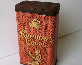 Vintage Rowntree's Cocoa Tin