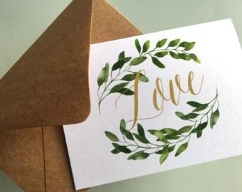 Leaf - Love Stationery Set