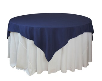 Tablecloth Navy Blue Etsy