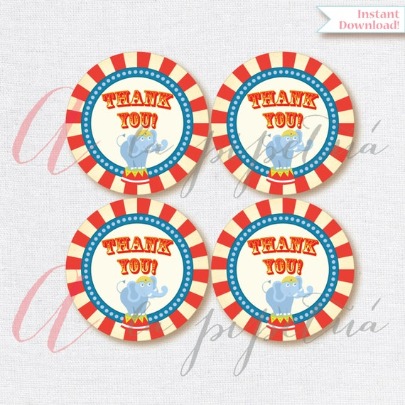 image about Carnival Printable known as Thank Yourself Choose Tags . Carnival tags. Printable tag. Carnival printables. Carnival Thank your self tag. Quick Down load