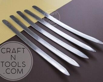 Shoemaking Paring Knife Blanchard Paris/Skiving Knife/Leather Cutter/Curved Knife/Flat Leather Knife/Angular Knife/Leather Cutting Tool