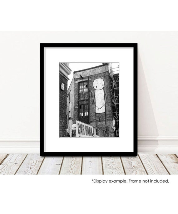 Street Wall Art Black And White : Black and white wall art stik street by allysonbrownphoto