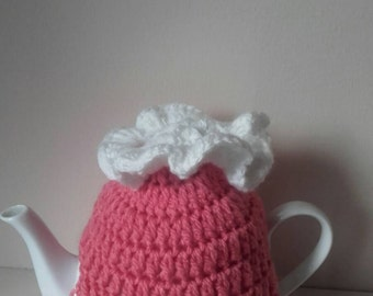 Crochet tea cosy, small tea cosy, tea cosy,