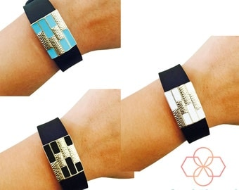 Charm to Accessorize the Fitbit Flex - The SUMMER Colorful Gold Charm to Dress Up Your Favorite Fitbit Activity Tracker - FREE U.S. Shipping
