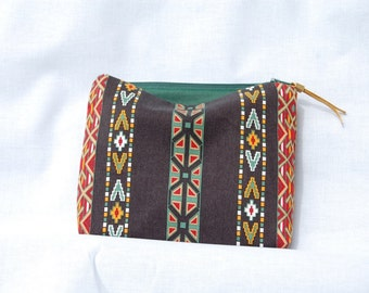 Ethnic makeup pouch Ethnic pouch Makeup pouch