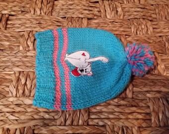 Knitting Valentines  Hat