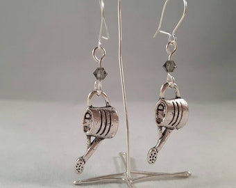 Watering Can Earrings