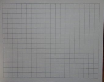 Square grid cross section graph paper Clearprint C38X 20