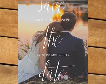Photo Save the Date - The Cathlene