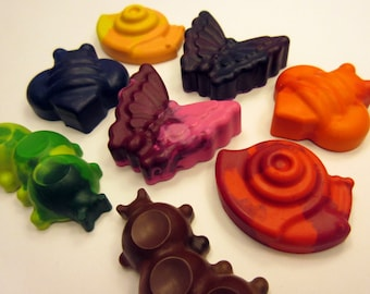 Set of 8 Insect Crayons