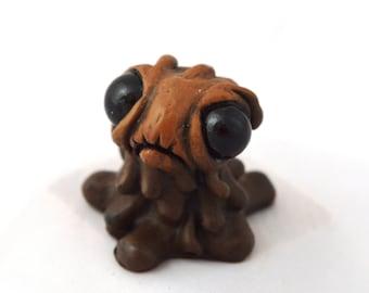 Coffee Dregs Handmade creature sculpture