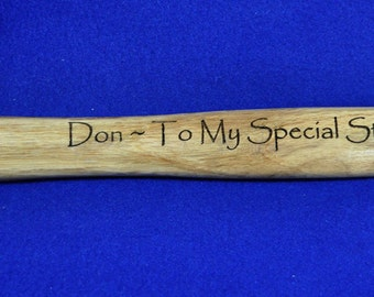 Step Dad Gift ~ Engraved Hammer ~ Stepfather Gift ~ Gift For A  Man ~ Engraved Gifts ~ Gift For Dad ~ Fathers Day Gift ~ Birthday For Him ~