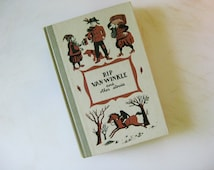 On Sale 50% OFF Junior Deluxe Editions, Rip Van Winkle and Other Tales, Washington Irving, Suzanne Suba Illustrations, 1955 Collected Shorts