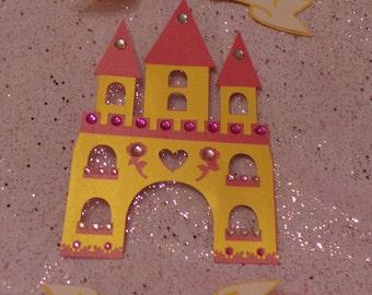 Princess Party - Custom Door Banner