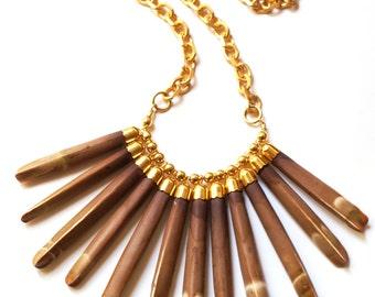 Orsin Beige Necklace