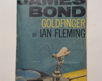 James Bond Goldfinger By Ian Fleming 12th Edition Paperback 1964