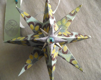 Paper Star, Handmade Ornament, Party Favors