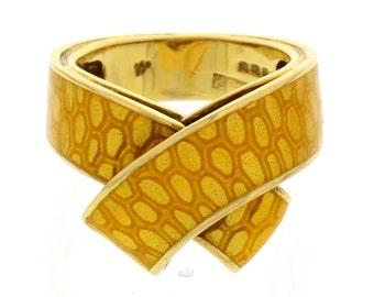 Kutchinsky 18k Yellow Gold Statement Ring