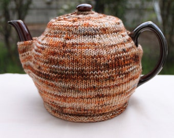 Simple Knitted Tea Cozy: A Knitting Pattern