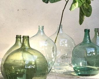 Demijohn vintage green - vintage canister