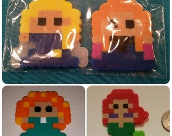 Disney Princess Perler Bead sprite